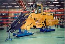 assembly line solutions, flexible assembly lines with Air Pallets