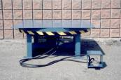 Turntables for industrial use - powered industrial turn tables
