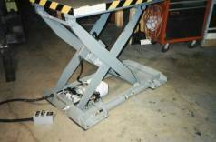 standard Lift table with air bearing base
