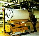 Mobile lift tables on air bearings make great material handling equipment and ergonomic equipment