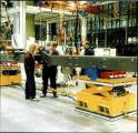 Scissor Lift tables fitted with Air Casters for Mobile Lift Platforms