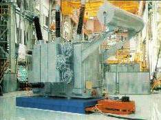 Air Film transporters for handling transformers. Large transformer handling on air casters