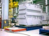 Move Transformers between crane bays or into test cells with Solving's Air Film Transporters